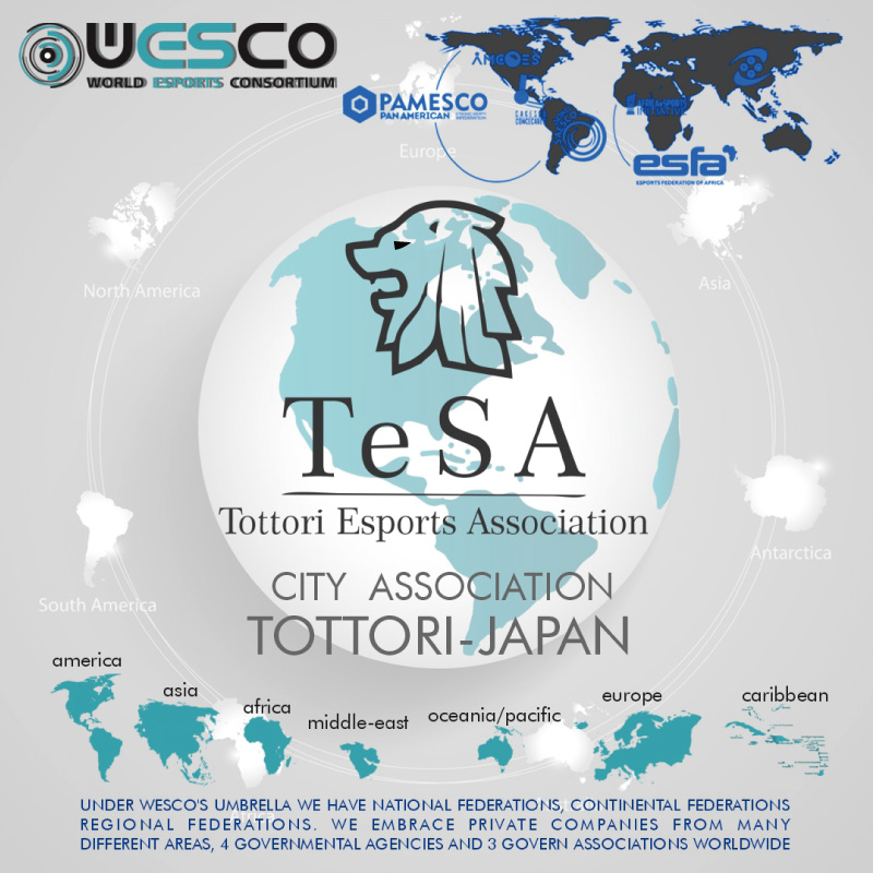 eスポーツ国際団体「WESCO | WORLD ESPORTS CONSORTIUM」に加盟しました。